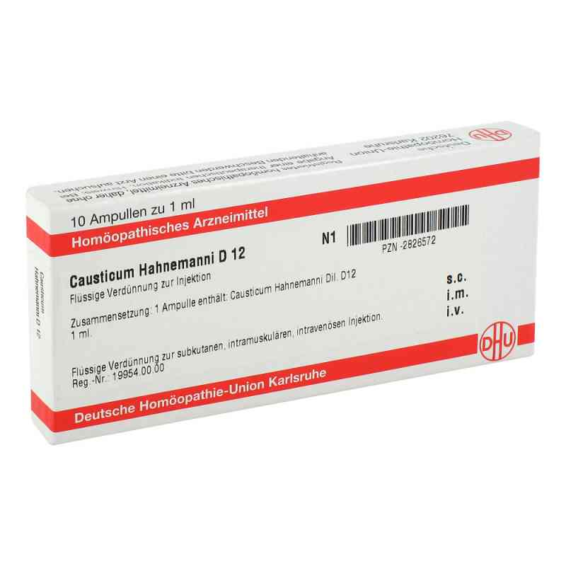 Causticum Hahnemanni D 12 Ampullen  bei versandapo.de bestellen