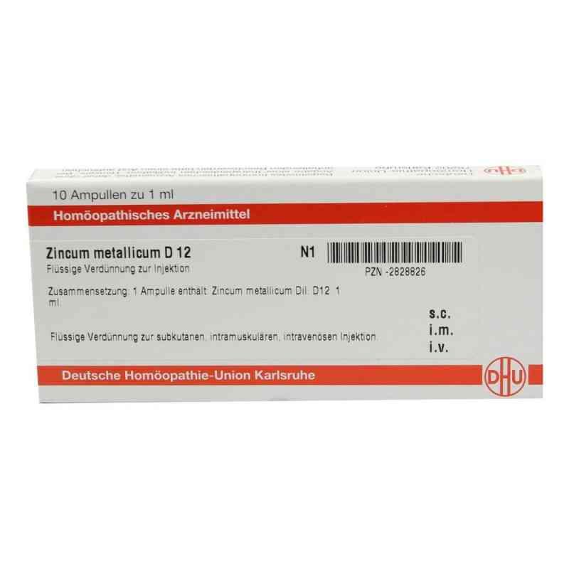 Zincum Metallicum D 12 Ampullen  bei versandapo.de bestellen