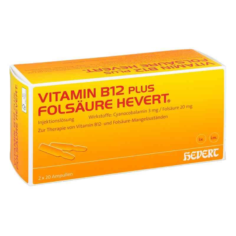 Vitamin B12 plus Folsäure Hevert [a-akut] 2 ml Amp  bei versandapo.de bestellen