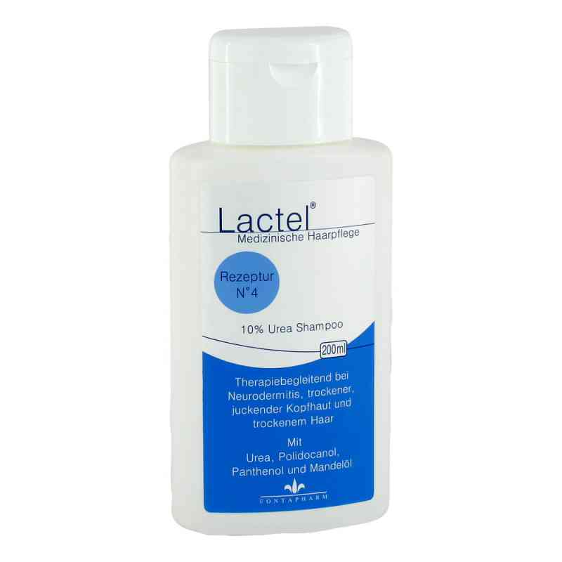 Lactel Nummer 4  Shampoo gegen trock.jucken.Kopfhaut  bei versandapo.de bestellen