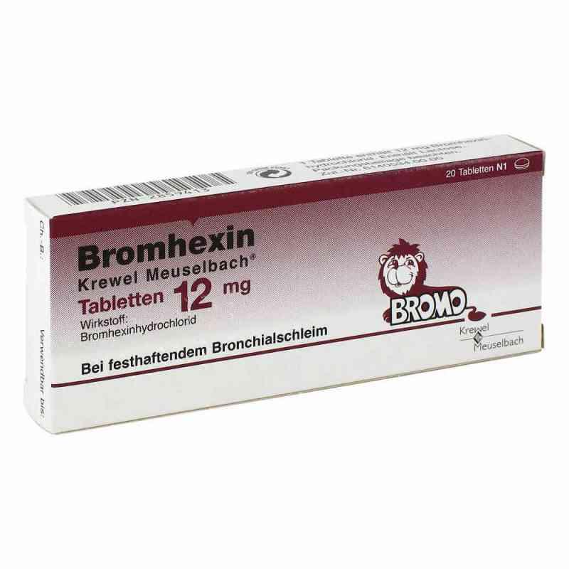 Bromhexin Krewel Meuselbach 12mg  bei versandapo.de bestellen