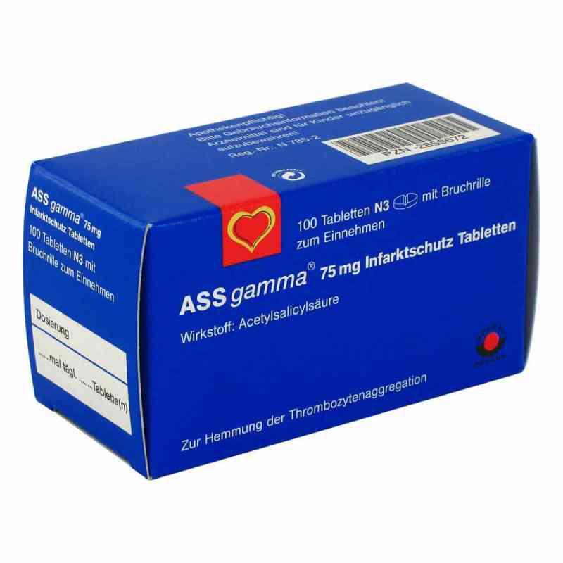 ASS gamma 75mg  bei versandapo.de bestellen