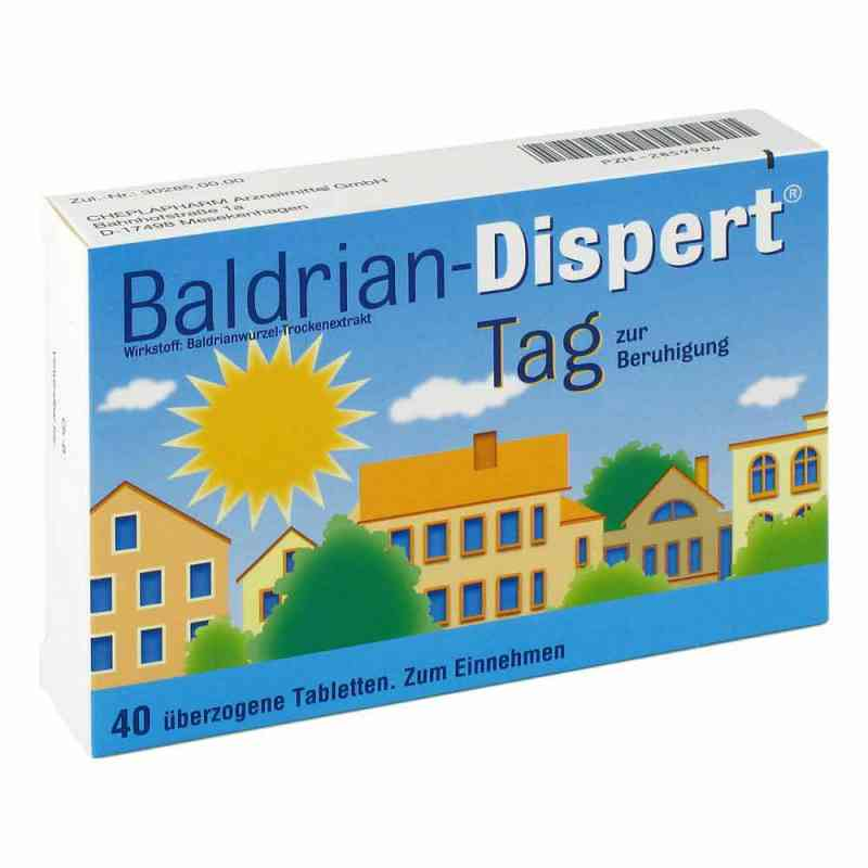 Baldrian-Dispert Tag zur Beruhigung  bei versandapo.de bestellen