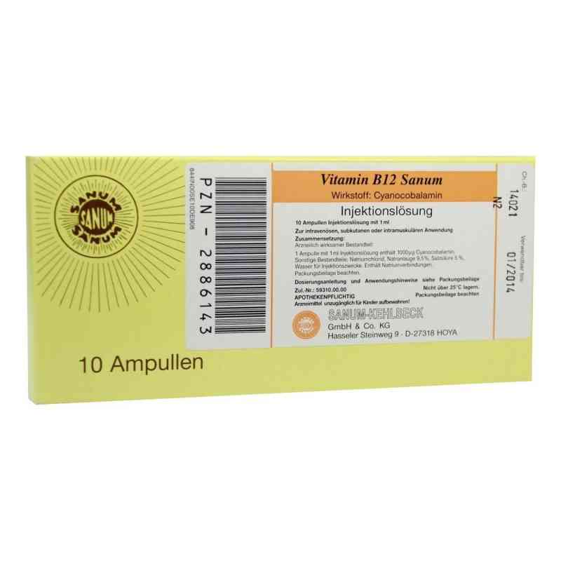 Vitamin B12 Sanum Injektionslösung  bei versandapo.de bestellen