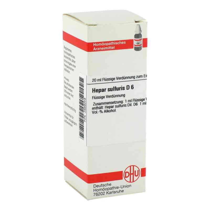 Hepar Sulfuris D 6 Dilution  bei versandapo.de bestellen