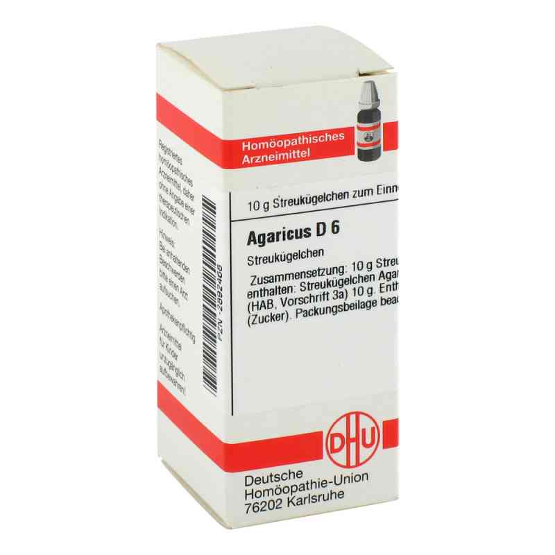 Agaricus D 6 Globuli  bei versandapo.de bestellen