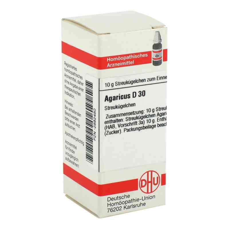 Agaricus D 30 Globuli  bei versandapo.de bestellen