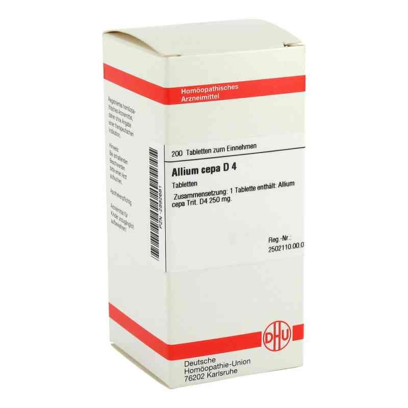 Allium Cepa D 4 Tabletten  bei versandapo.de bestellen
