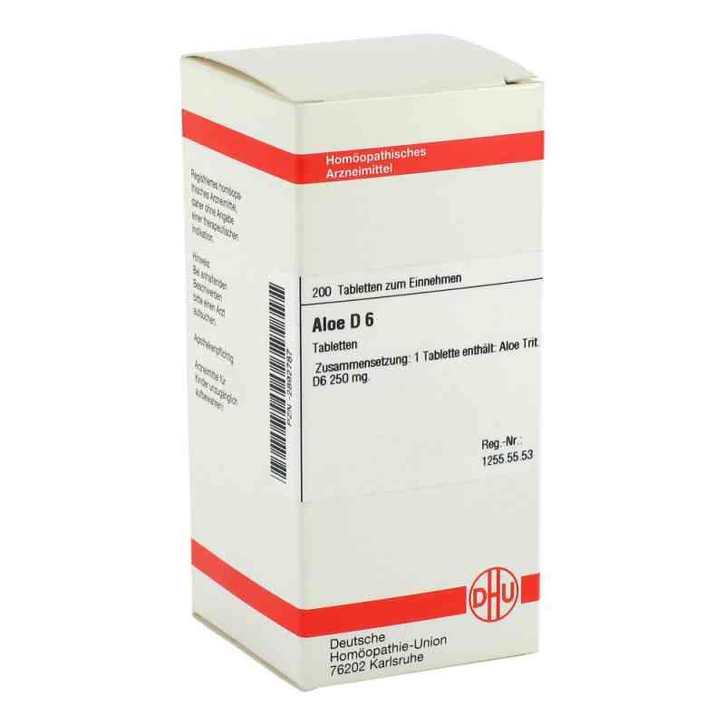 Aloe D 6 Tabletten  bei versandapo.de bestellen