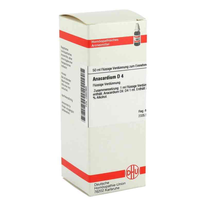 Anacardium D 4 Dilution  bei versandapo.de bestellen
