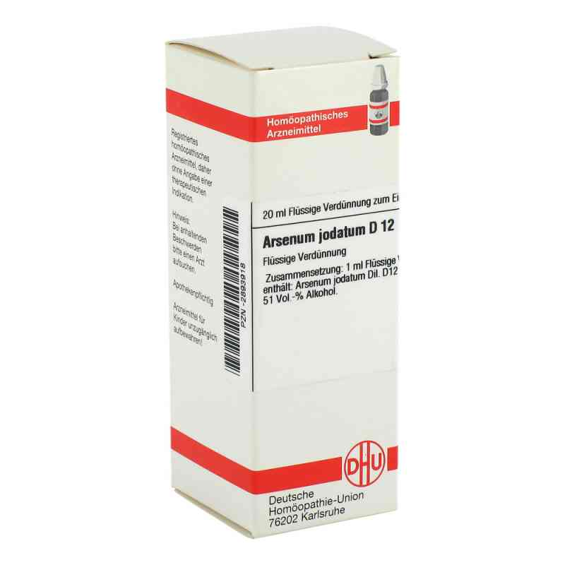 Arsenum Jodatum D 12 Dilution  bei versandapo.de bestellen