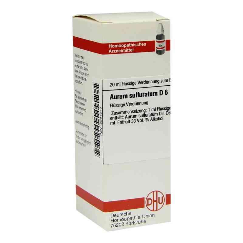 Aurum Sulfuratum D 6 Dilution  bei versandapo.de bestellen