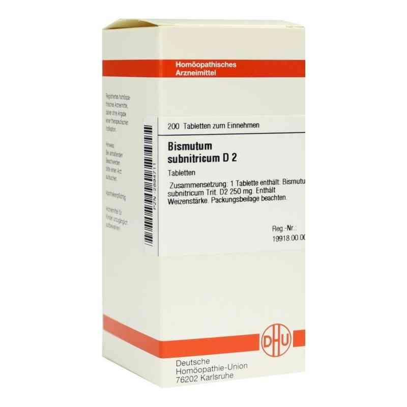 Bismutum Subnitricum D 2 Tabletten  bei versandapo.de bestellen