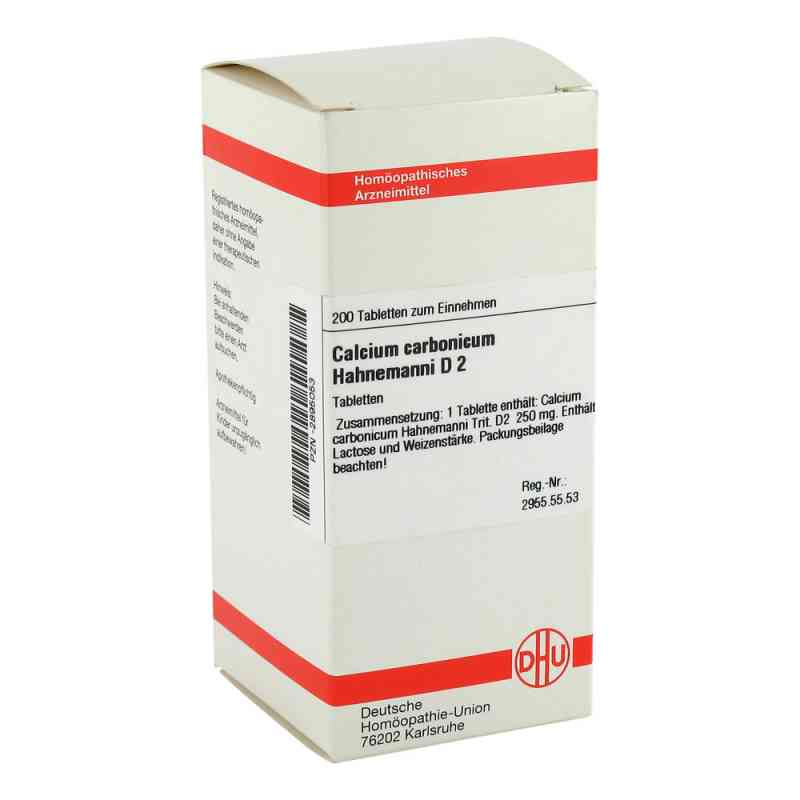 Calcium Carbonicum D 2 Tabletten Hahnemanni  bei versandapo.de bestellen