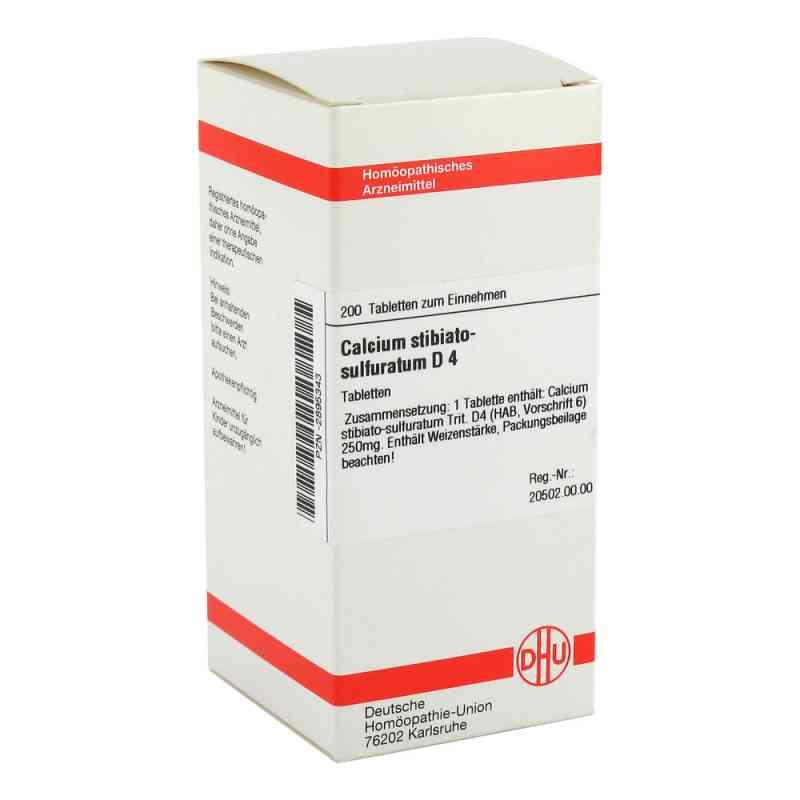 Calcium Stibiato Sulfuratum D 4 Tabletten  bei versandapo.de bestellen