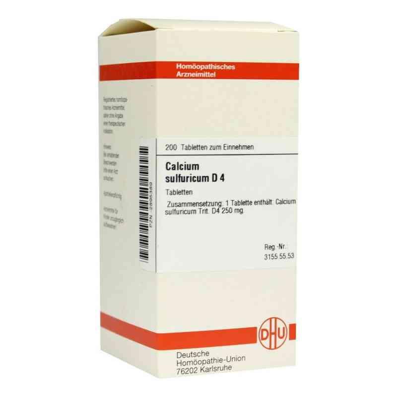Calcium Sulfuricum D 4 Tabletten  bei versandapo.de bestellen