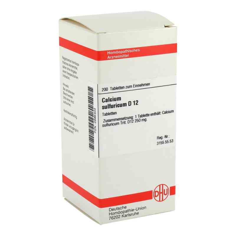 Calcium Sulfuricum D 12 Tabletten  bei versandapo.de bestellen