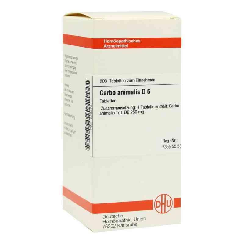 Carbo Animalis D 6 Tabletten  bei versandapo.de bestellen