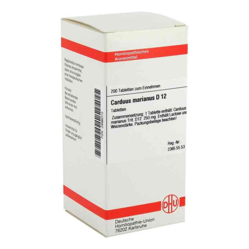 Carduus Marianus D 12 Tabletten  bei versandapo.de bestellen