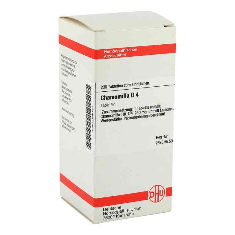 Chamomilla D 4 Tabletten  bei versandapo.de bestellen