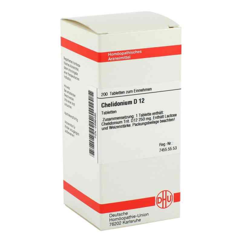Chelidonium D 12 Tabletten  bei versandapo.de bestellen