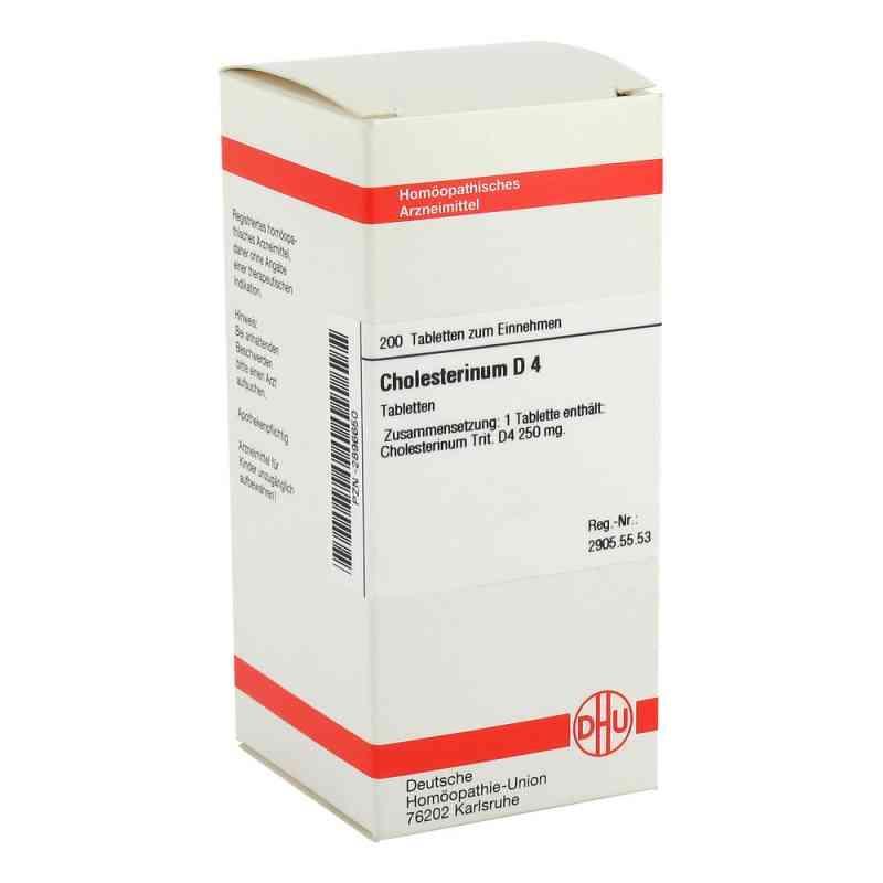 Cholesterinum D 4 Tabletten  bei versandapo.de bestellen