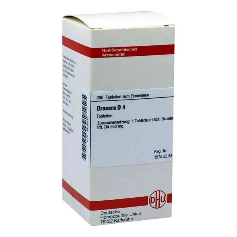 Drosera D4 Tabletten  bei versandapo.de bestellen