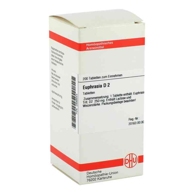 Euphrasia D 2 Tabletten  bei versandapo.de bestellen