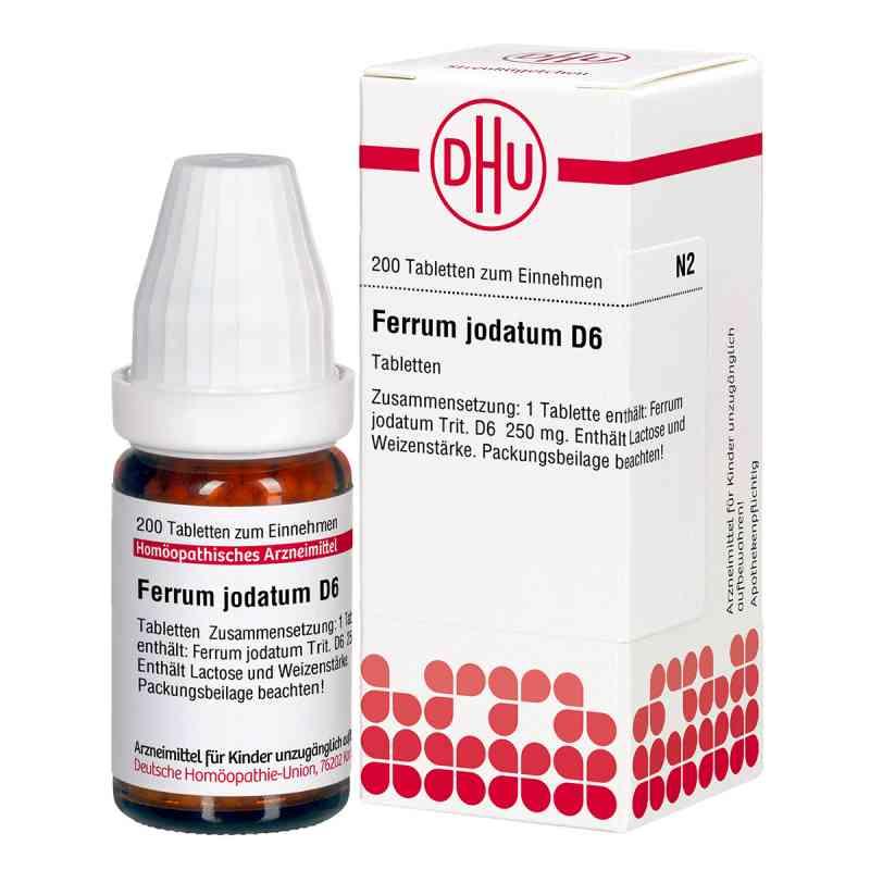 Ferrum Jodatum D 6 Tabletten  bei versandapo.de bestellen