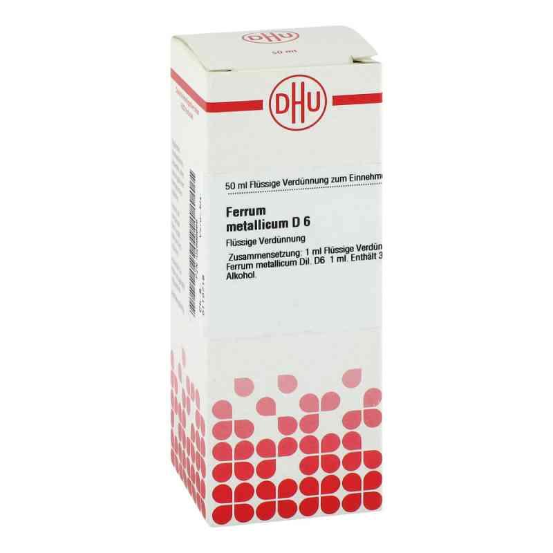 Ferrum Metallicum D 6 Dilution  bei versandapo.de bestellen