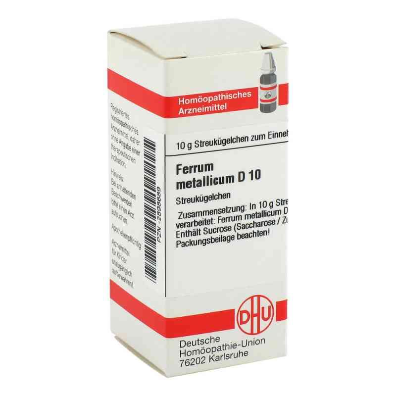 Ferrum Metallicum D 10 Globuli  bei versandapo.de bestellen