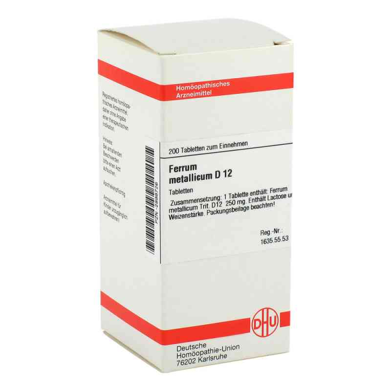 Ferrum Metallicum D 12 Tabletten  bei versandapo.de bestellen
