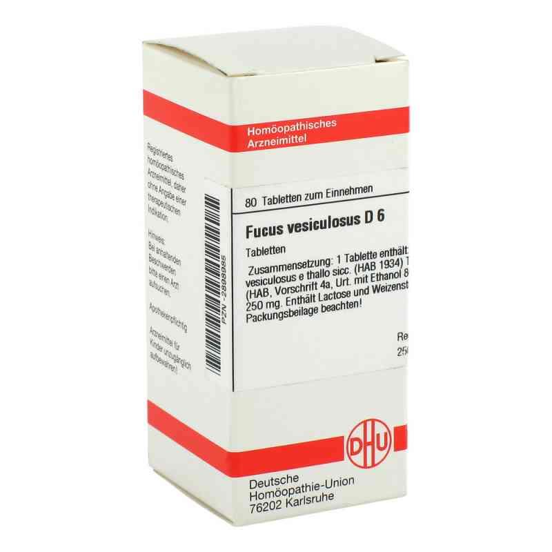Fucus Vesiculosus D 6 Tabletten  bei versandapo.de bestellen