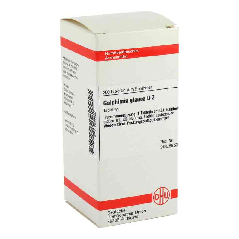 Galphimia Glauca D 3 Tabletten  bei versandapo.de bestellen