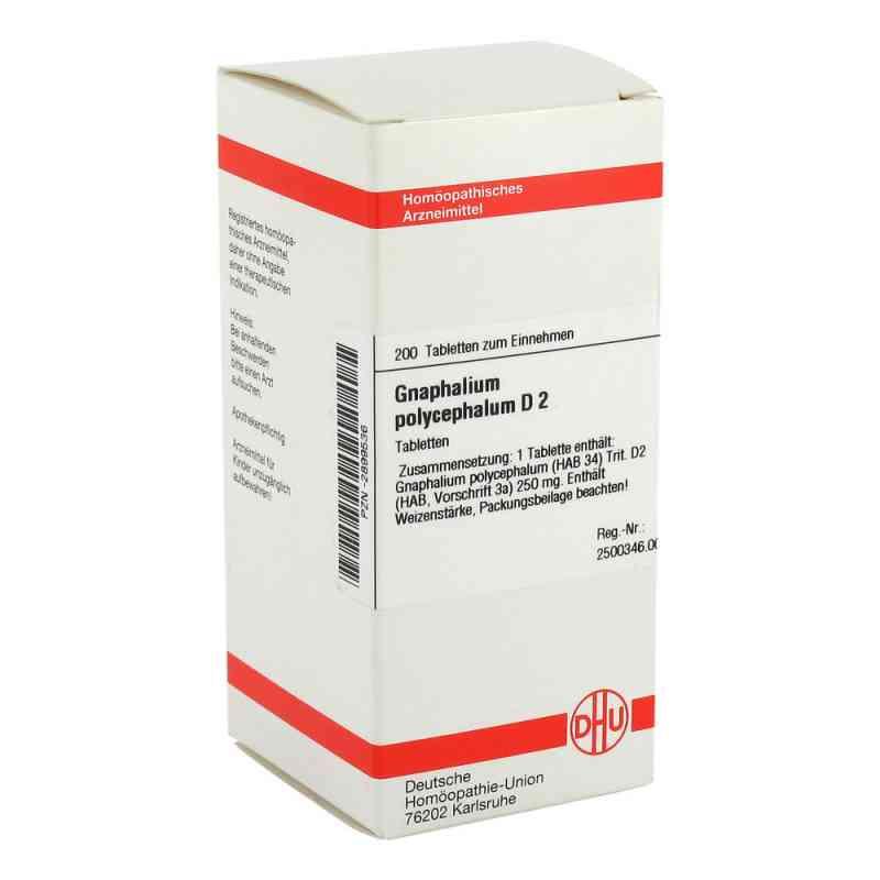 Gnaphalium Polyceph. D 2 Tabletten  bei versandapo.de bestellen