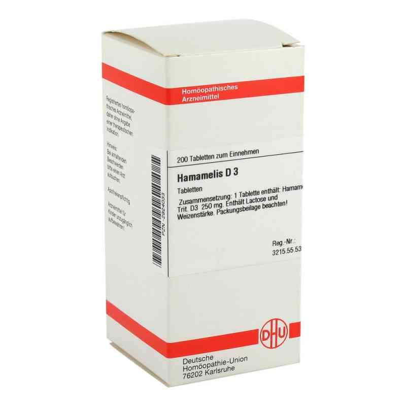 Hamamelis D 3 Tabletten  bei versandapo.de bestellen