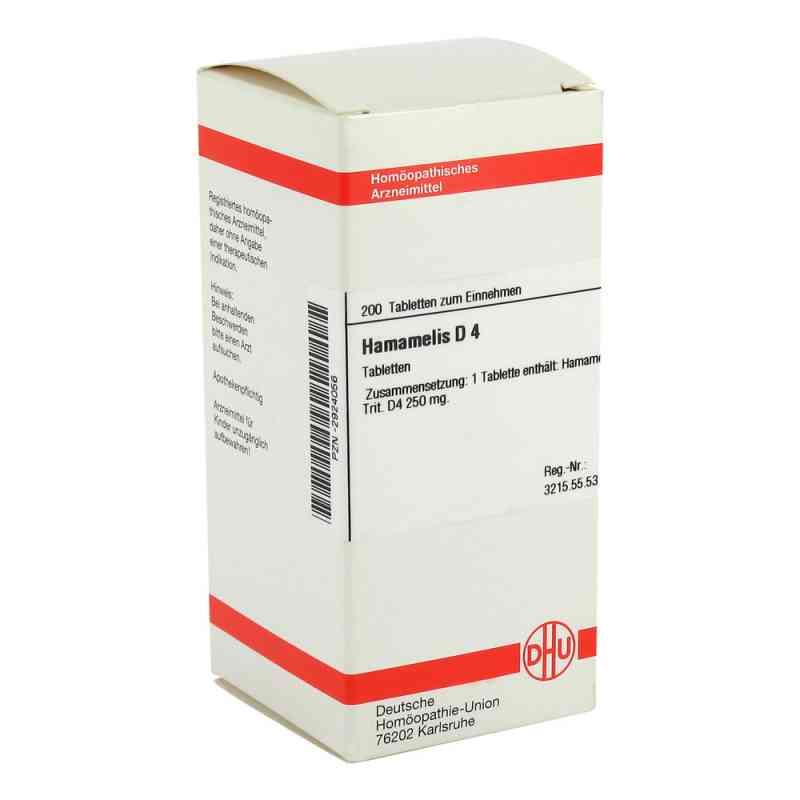 Hamamelis D 4 Tabletten  bei versandapo.de bestellen