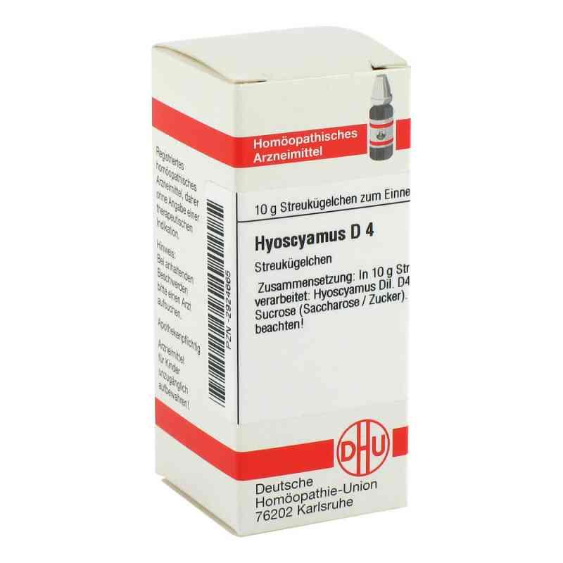 Hyoscyamus D 4 Globuli  bei versandapo.de bestellen