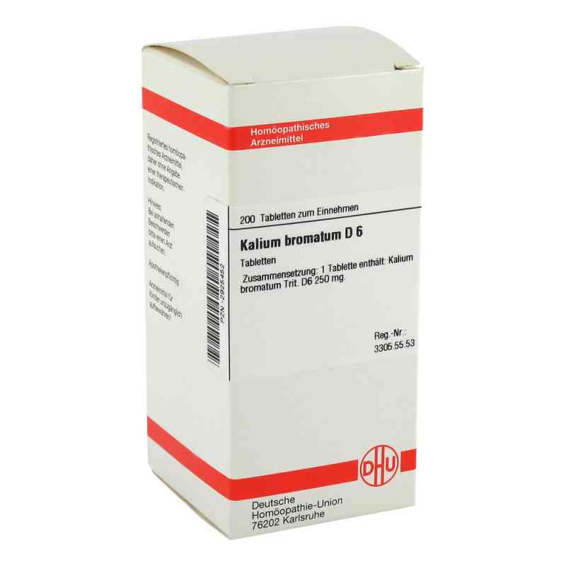 Kalium Bromatum D 6 Tabletten  bei versandapo.de bestellen
