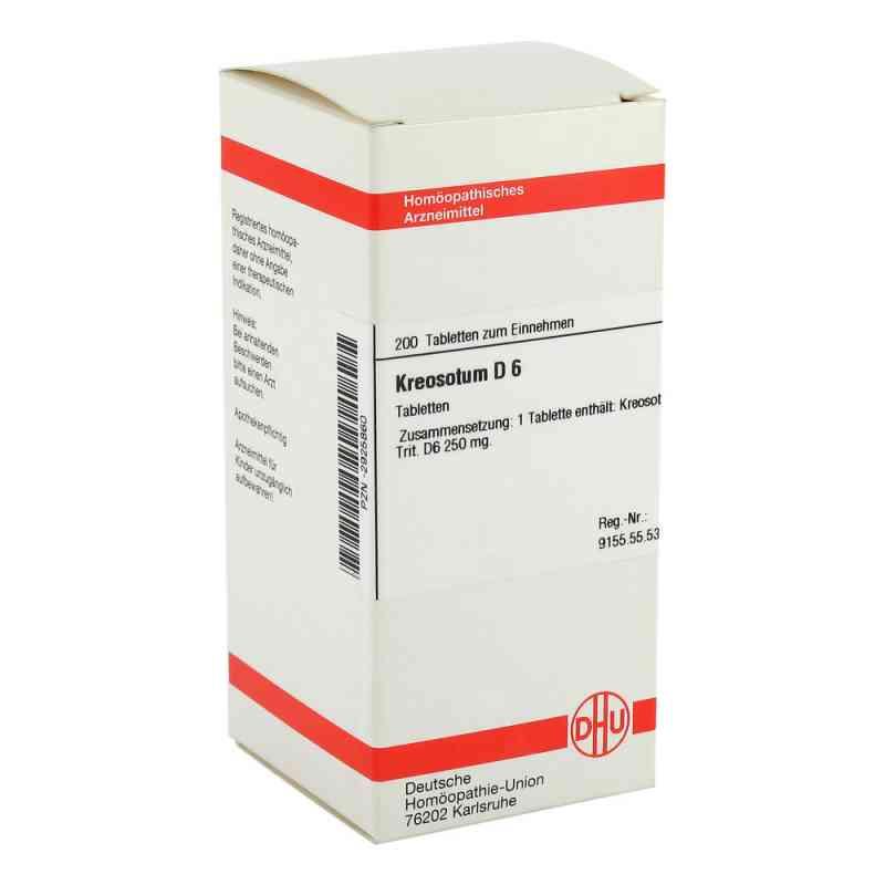 Kreosotum D 6 Tabletten  bei versandapo.de bestellen