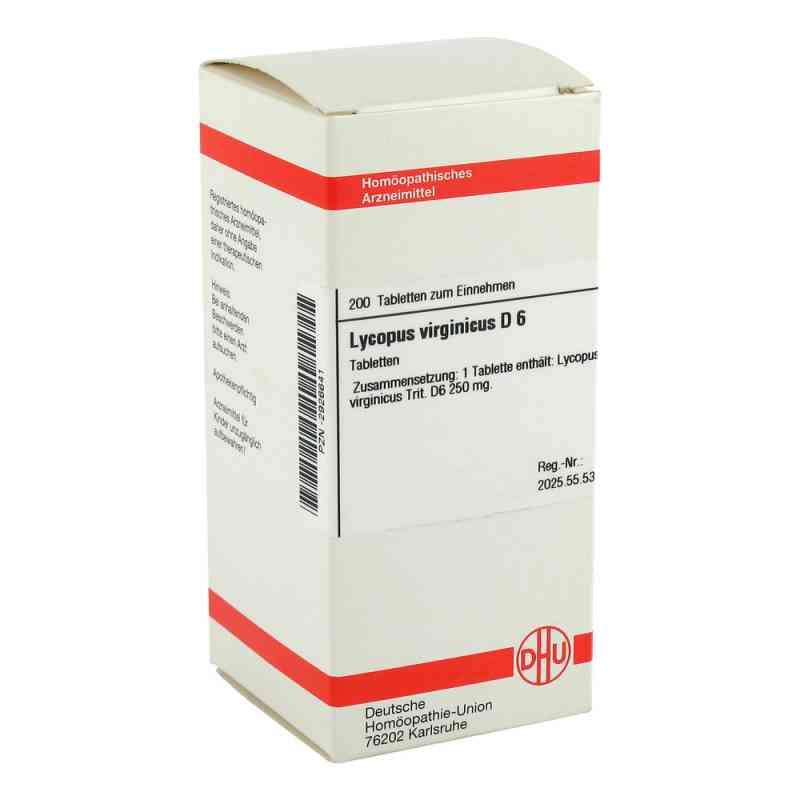 Lycopus Virg. D 6 Tabletten  bei versandapo.de bestellen