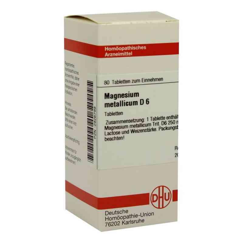 Magnesium Metallicum D 6 Tabletten  bei versandapo.de bestellen