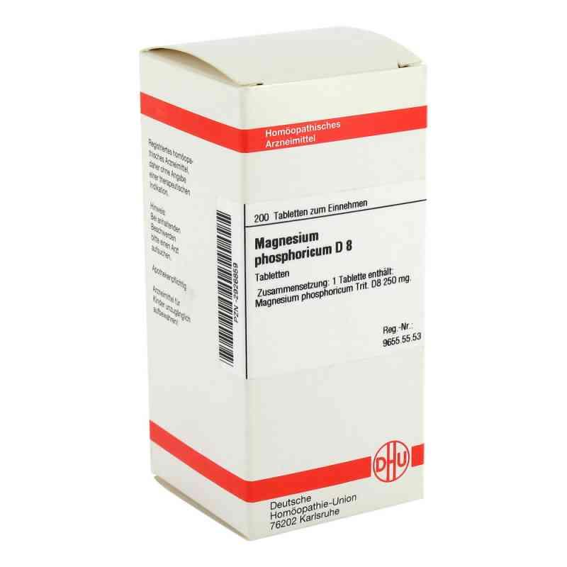 Magnesium Phos. D 8 Tabletten  bei versandapo.de bestellen