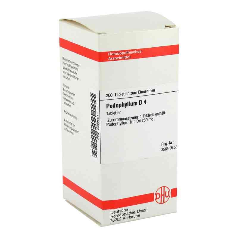 Podophyllum D 4 Tabletten  bei versandapo.de bestellen