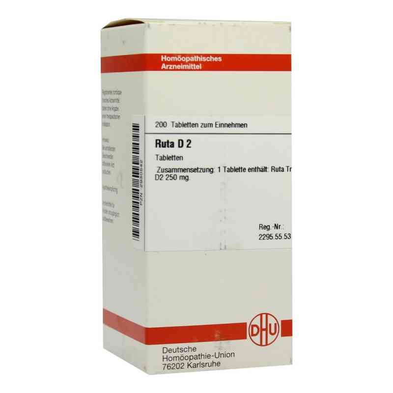 Ruta D 2 Tabletten  bei versandapo.de bestellen