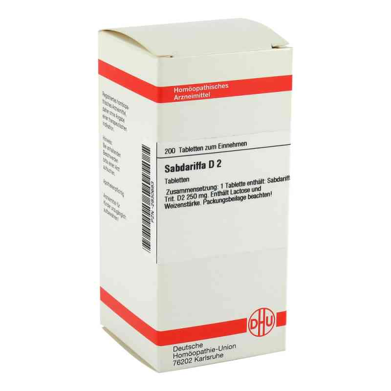 Sabdariffa D 2 Tabletten  bei versandapo.de bestellen