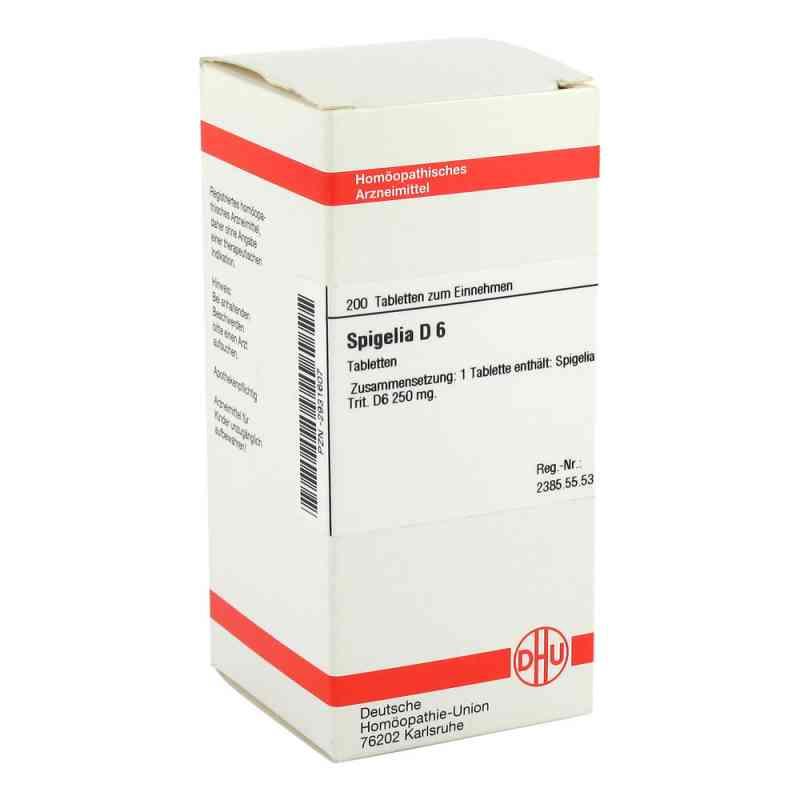 Spigelia D 6 Tabletten  bei versandapo.de bestellen