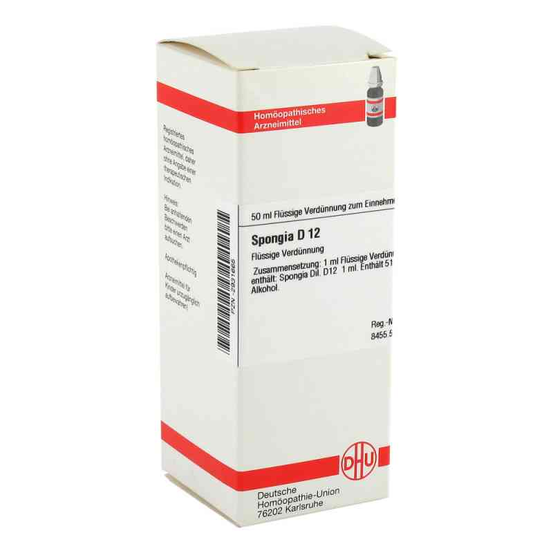 Spongia D 12 Dilution  bei versandapo.de bestellen