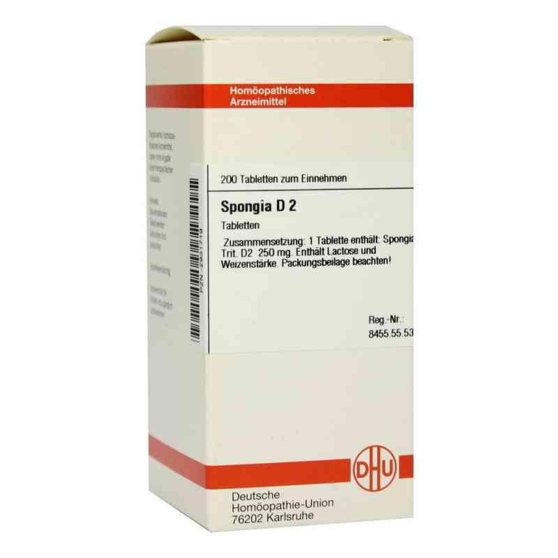 Spongia D 2 Tabletten  bei versandapo.de bestellen