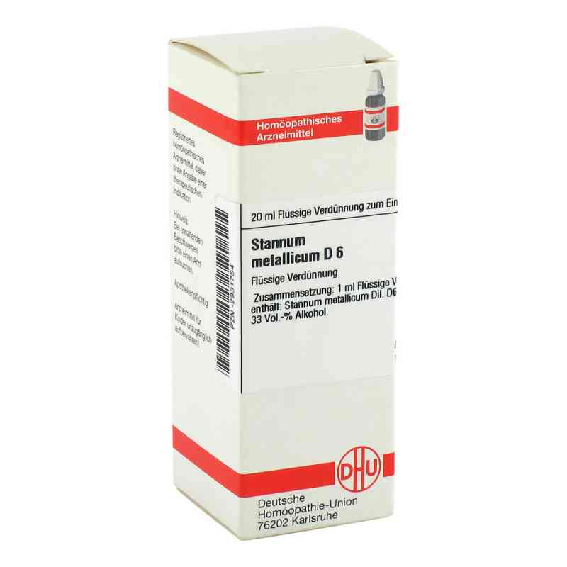 Stannum Met. D 6 Dilution  bei versandapo.de bestellen